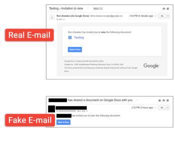 Google Docs становится эффективным инструментом для хакеров, Google не может сидеть и смотреть