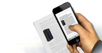 تعليمات تحويل المستندات الورقية إلى نص باستخدام iPhone