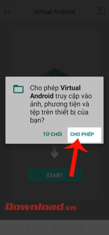 Instrucciones para instalar servidores virtuales en teléfonos Android