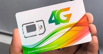 Instrucciones para cambiar SIM 4G Viettel, Vinaphone, Mobifone en casa gratis