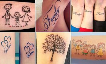 Family Tattoo: ภาพถ่ายและไอเดียสวย ๆ 200 ภาพเพื่อสร้างแรงบันดาลใจให้คุณ