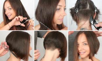Saçınızı evde kendiniz nasıl kesersiniz: 12 yöntem