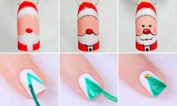 simple christmas nail art 2020 40 beautiful diy tutorials