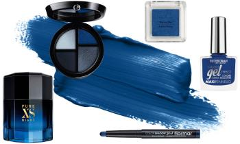 Classic Blue Pantone 2020: makeup ideas, beauty products and make up