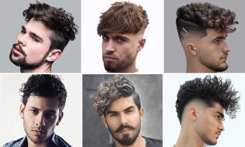 Erkekler için kıvırcık saç kesimi: 100 güzel modaya uygun görünüm