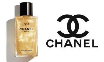 Chanel n.5 Fragmentos DOr, corpo iluminador
