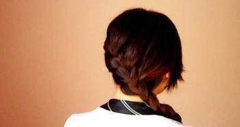 Jalinan Perancis: bagaimana melakukannya sendiri pada rambut anda