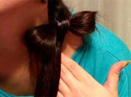 Wie man eine Haarschleife macht