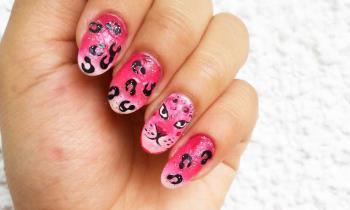 Animalier Nail Art cu emailuri Pupa: Tutorial