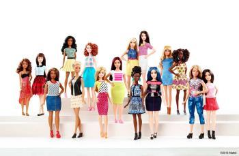 Barbie Curvy Baru, Tinggi atau Pendek: Foto pelbagai bentuk!