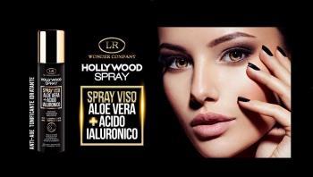 LR Hollywood: revolucionário spray facial anti-envelhecimento!