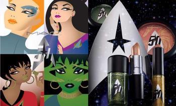 MAC Star Trek, coleção de maquiagem do 50º aniversário