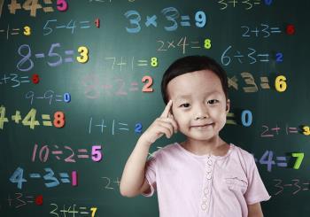建議一些非常有用的數學練習,以幫助孩子為父母準備一年級