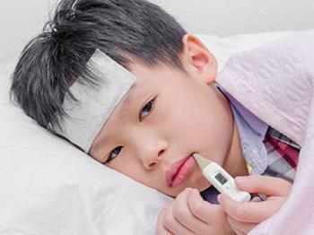 एक मां का जुनून जब उसके बेटे को इन्फ्लूएंजा ए वायरस के संक्रमण के कारण एक जब्ती है