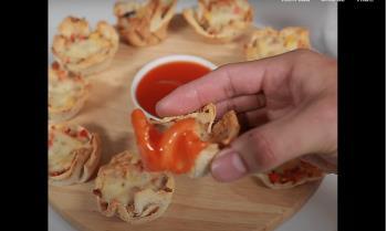 Faceți pizza cu bebelușul dvs. din sandvișuri nutritive cu ingrediente simple
