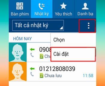 Istruzioni su come rifiutare una chiamata su Samsung Galaxy J1 semplice