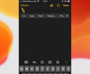 Comment gérer, consulter ou supprimer du texte copié sur iPhone, iPad