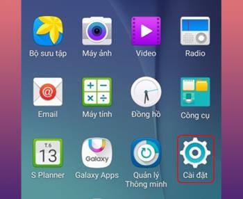 Instructions to change keyboard language on Samsung Galaxy Note 5