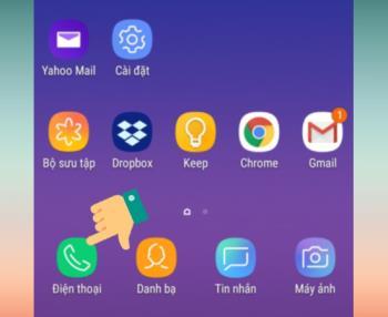 Istruzioni per aprire per rispondere alle chiamate con le cuffie su Samsung Galaxy S7