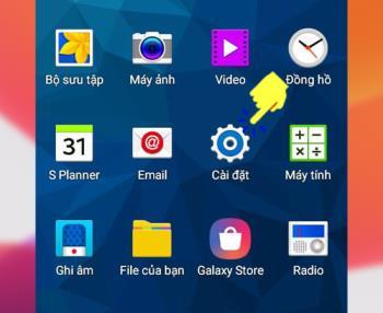 Instructions pour taper des accents vietnamiens Samsung Galaxy S6 Edge Plus