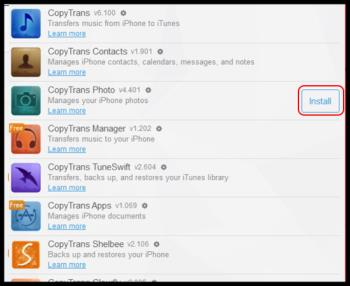 5 steps to copy video pictures from iPhone to computer via CopyTrans