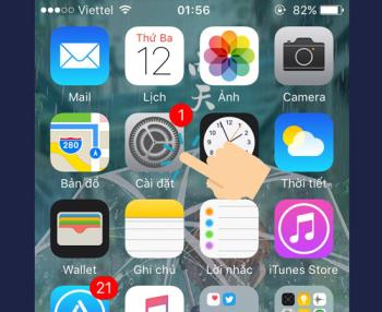 3 steps to turn off automatic check and software update function on iPhone