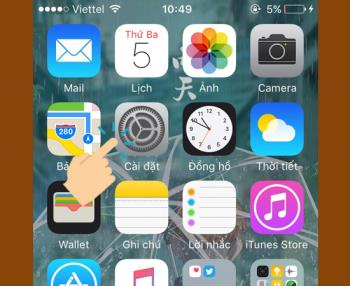 The simplest 6 steps to language settings for iPhone