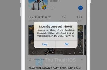 İOS 13te 3G 4G kullanarak 150 MBden büyük uygulamaları kolayca indirin