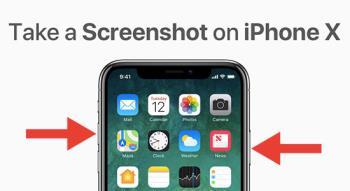 2 façons de prendre rapidement des captures décran sur iPhone X, Xs, Xs Max