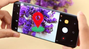 Come disattivare e aprire la funzione di localizzazione quando si scattano foto su telefoni Samsung