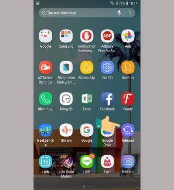 Blokir iklan di browser Internet Samsung