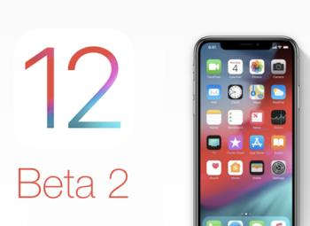 Already have the iOS 12 beta 2 update, update now guys