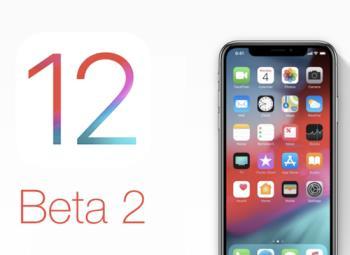 Sudah mempunyai kemas kini iOS 12 beta 2, kemas kini sekarang