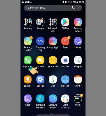 Samsungda kablosuz bağlantıyı aç / kapat