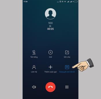 So zeichnen Sie Anrufe auf Xiaomi Redmi 5A auf