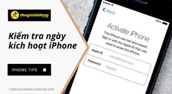iPhone how to check activation date