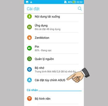 Activați bara de instrumente a jocului pe Asus Zenfone 4 Max ZC520KL