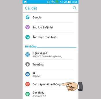 Asus Zenfone 4 Max ZC520KLde Android yazılımını güncelleyin