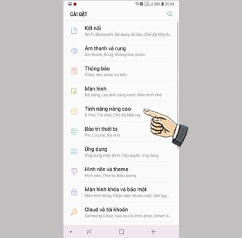Enable easy mute on Samsung Galaxy Note 8