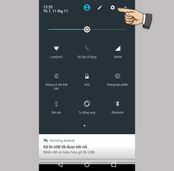 Durum çubuğu simgesi nasıl değiştirilir Motorola Moto G5S Plus