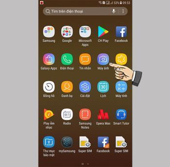 Photo mode on Samsung Galaxy J7 Plus