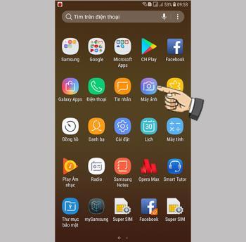 Take Selfies with Gestures on Samsung Galaxy J7+