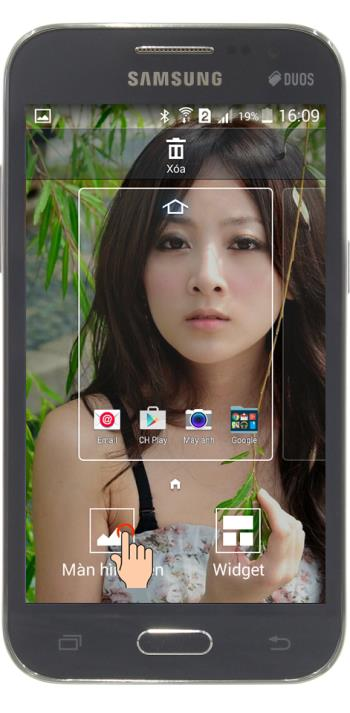 Change wallpaper of Samsung Galaxy Core Prime lock screen
