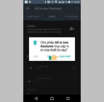 Bring iPhone X to Androids swipe-to-screen feature