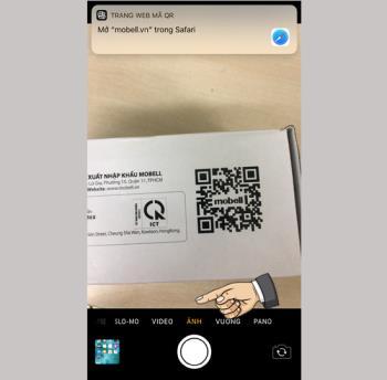 Bagaimana cara kerja pemindai kode QR di iOS 11?
