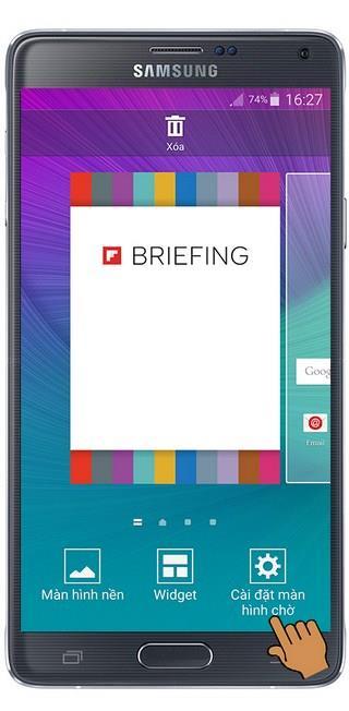 Turn off Flipboard feature on Samsung Galaxy Note 4