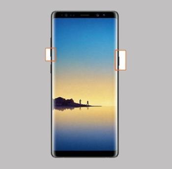 كيفية التقاط لقطات شاشة على Samsung Galaxy Note 8