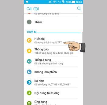 Asus Zenfone 4 Max Proda mavi ışık filtresi nasıl etkinleştirilir