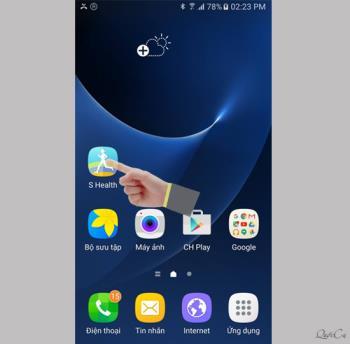 Samsung Galaxy S7에서 심박수 측정