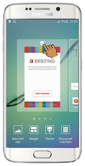 Samsung Galaxy S6 Edge에서 Flipboard Briefing 기능을 끄는 방법